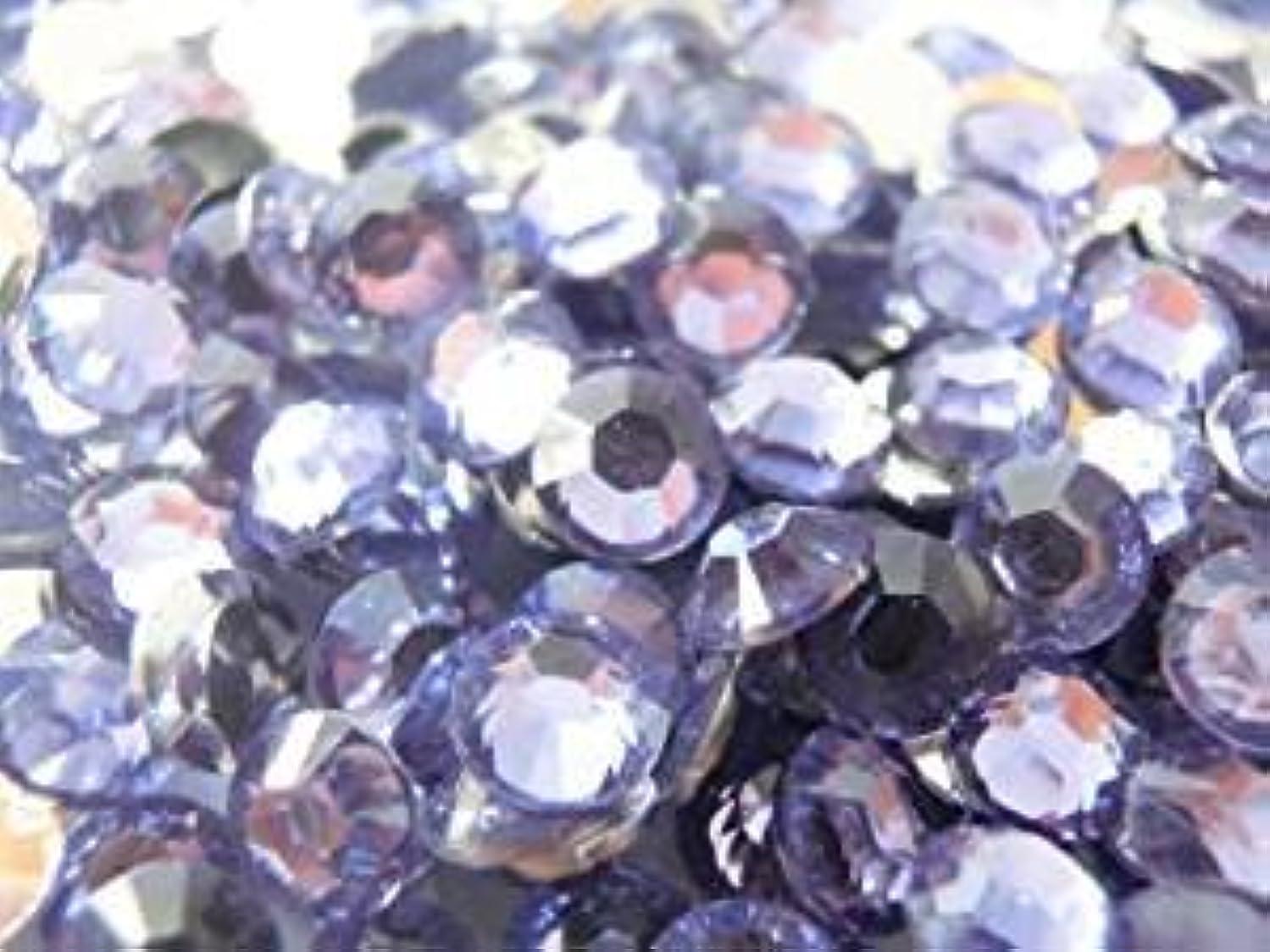 休日以内に販売計画【ラインストーン77】良質大量 アクリルラインストーン 2mm~10mm 薄紫 (6mm(約80粒))