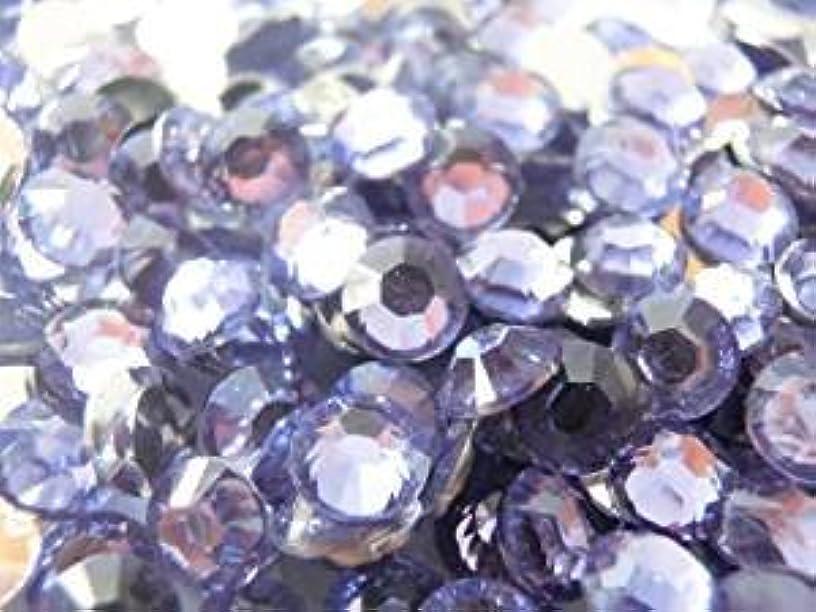 別れるガード悪の【ラインストーン77】良質大量 アクリルラインストーン 2mm~10mm 薄紫 (6mm(約80粒))