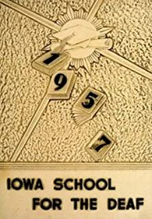 (Custom Reprint) Yearbook: 1957 Iowa School for the Deaf - Bobcat Yearbook (Council Bluffs, IA)