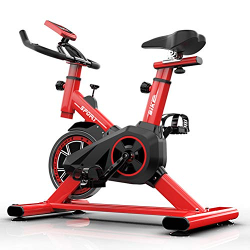 Sale!! Exercise Cycling Bike,Mute Adjustable Professional with LCD Display Workout Indoor Fitness Bi...