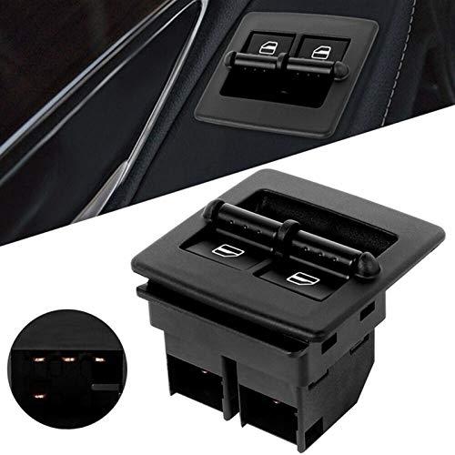 KUANGQIANWEI Elektrischer fensterheber Fensterheberschalter Sitz for Beetle 1998-2010 1C0959527 1C0959851 1C0959855 Autozubehör (Color : Black)