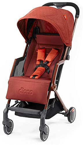 Diono Traverze Compact Luggage-Style Stroller, Copper Cube