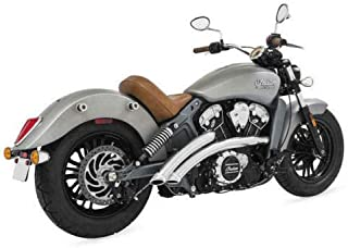 Freedom Performance Radical Radius Exhaust System for Chrome Indian Scout 2014-2016
