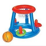 Sairis Water Basketball Hoop Pool Float Piscina Inflable Toy Water Sport Toy Pool Floating Toys para niños