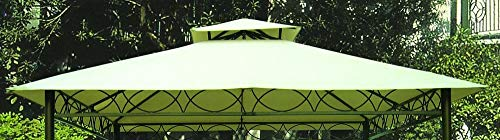 Disraeli Copertura per Gazebo cod. GAZL3 Colore Ecru 3x3m Coperture Esterni