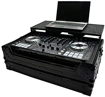 Harmony HCDDJSXLTBK Flight Glide Laptop Stand DJ Custom Case Compatible with Pioneer DDJ-SX2