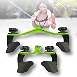 ZPCSAWA Lat Pulldown Attachments, Cable Attachments V-Bar Hand Grips Pull Down Lat Pull Down Cable Machine Attachment Gym Fitness Rowing for Cable Machine