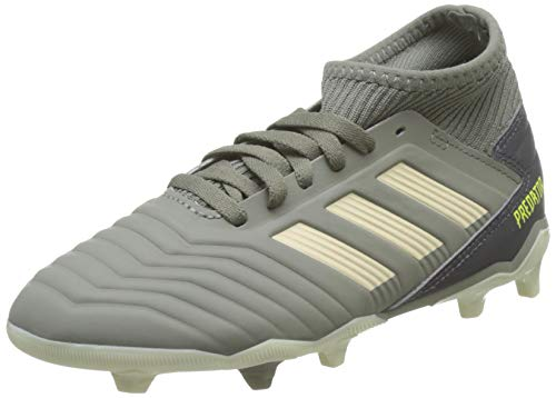 adidas Baby Jungen Predator 19.3 Fg J Fußballschuhe, Grün (Legacy Green/Sand/Solar Yellow Legacy Green/Sand/Solar Yellow), 35 EU (2.5 UK)