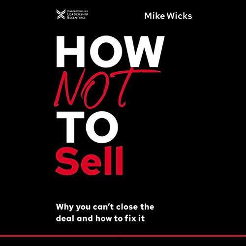 Page de couverture de How Not to Sell