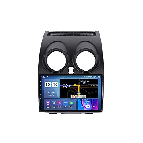 MGYQ 9' Android 10.0 Stereo Auto Bluetooth 2 DIN Autoradio per Nissan Qashqai J10 2006-2013 con Telecamera Retromarcia Supporto GPS Wi-Fi Carplay DSP RDS FM/AM USB,M100s