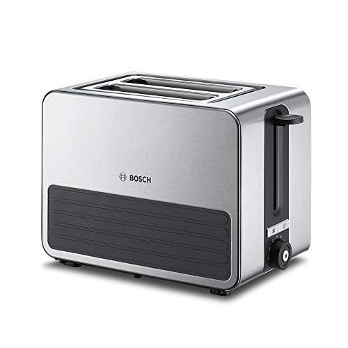 Bosch TAT7S25 Tostador compacto, 2 ranuras, 1050 W, color gris