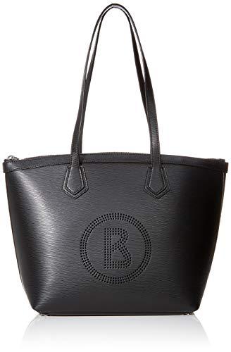 Bogner Damen Shopper Zürs Luisa aus Leder Handtasche mit Reißverschluss
