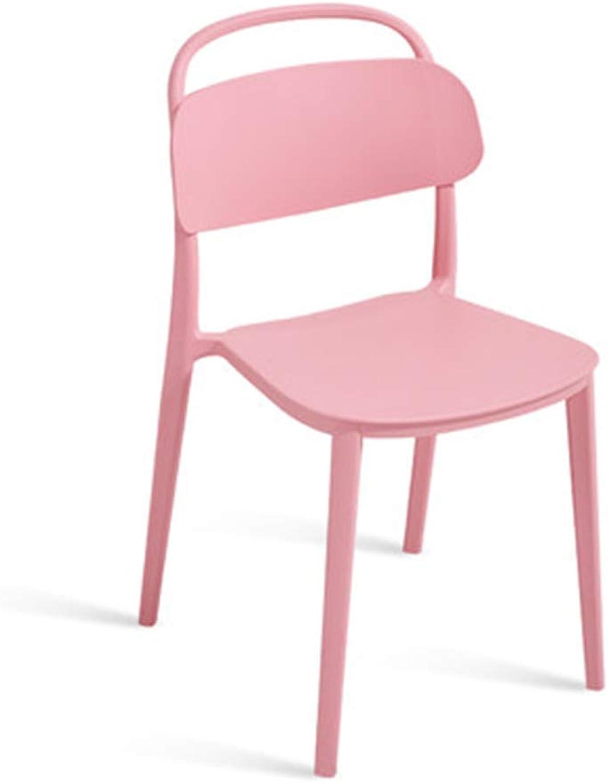 Ch-AIR Modern Modern Modern Minimalist Nordic Chair Home Creative Plastic Chair Restaurant Adult Leisure Desk Chair Back Stool,1 B07MDZJHJY | Ausgezeichnetes Handwerk  f248ce