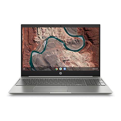 HP Chromebook 15-DE 15.6-Inch Full HD Touch WLED Intel i3-8130U 8GB 128GB eMMC Chrome OS (Renewed)