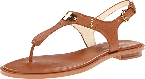 Michael Michael Kors Womens Plate Thong Open Toe Casual Slide Sandals