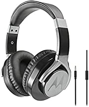 Motorola Pulse Max Wired Over-Ear Headphones Hi-Fi Sound with Mic Universal with 3.5mmm Jack with Stylus (Renewed)