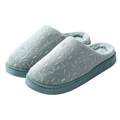 Hausschuhe für Frauen sowie Hausschuhe aus Samtfell für Baumwollpantoffeln im Innen- und Außenbereich sowie rutschfeste, Bequeme Schuhe thumbnail