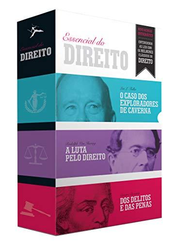 O Essencial do Direito - Caixa com 3 Volumes