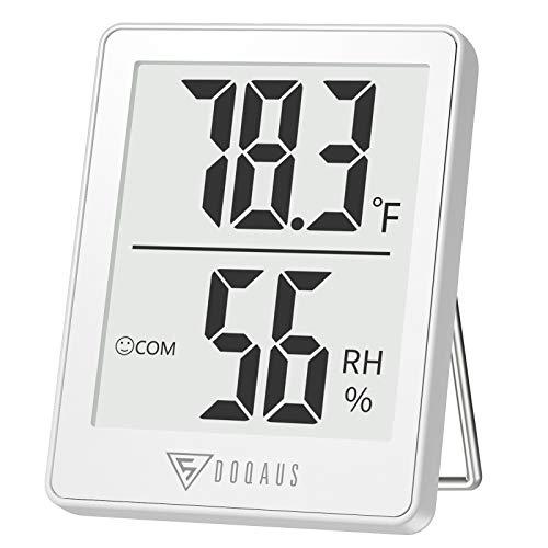 termómetro digital blanco fabricante DOQAUS