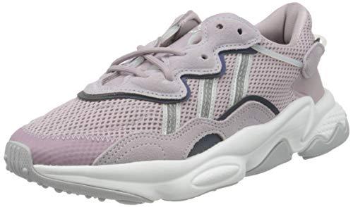 adidas Ozweego W, Zapatillas Deportivas Mujer, Morado Soft Vision Cloud White Grey Three, 37 1/3 EU
