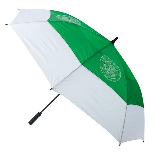 Footie Gifts Double Canopy Golf Umbrella - Celtic F.C