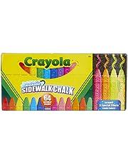 CRAYOLA - 64 GESSI PER ESTERNO, 15.74 x 34.29 x 9.52 cm, Multicolore