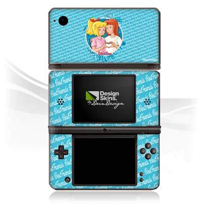 DeinDesign Skin kompatibel mit Nintendo DSi XL Folie Sticker Bibi Blocksberg Bibi und Tina Fanartikel