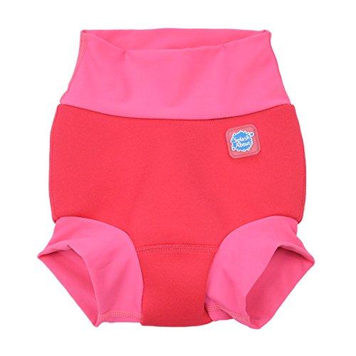 Splash About Pañal para bebé de 0 a 3 meses, color rosa