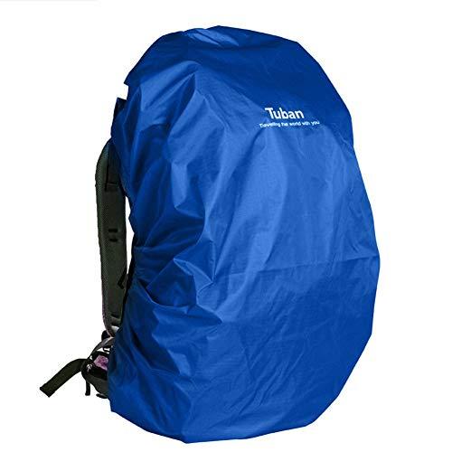 Verloco Regenhoes voor rugzak om te klimmen in de open lucht, waterdicht, 40 l, beschermhoes van nylon 190T voor computertassen, schooltassen, compact, licht en opvouwbaar
