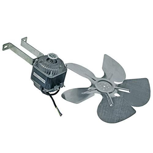 Europart 10021476 UNIVERSAL Ventilator Lüfter Fan Motor 34W 230V Ventilatorglügel Flügel 300mm Haltebügel für Kühlgerät Kühlschrank