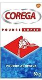 Corega, GSK - Polvo adhesivo para aparatos dentales, Super Powder, 50 g