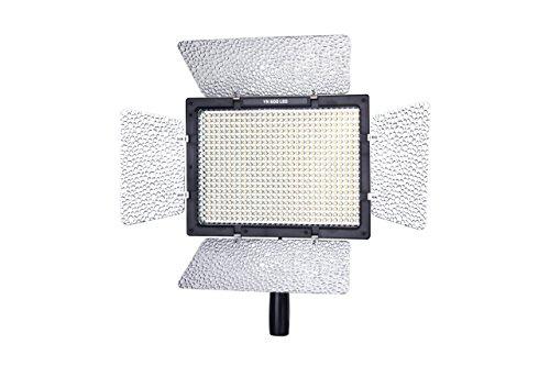Yongnuo YN600L - Lámpara LED para iluminación fotográfica (4680 LM, 5500k), Color Negro