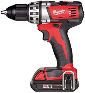 Milwaukee 0002082 Cordless Drill 18 V 1.5 Ah Lithium 2 Speed 38 Nm