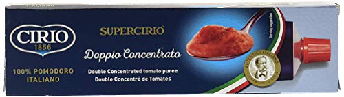 Cirio - Pasta de tomate doblemente concentrada - 140 g - Pack de 2 unidades