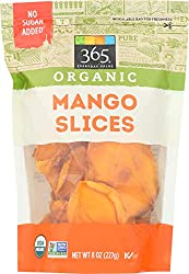 365 Everyday Value, Organic Mango Slices, 8 oz