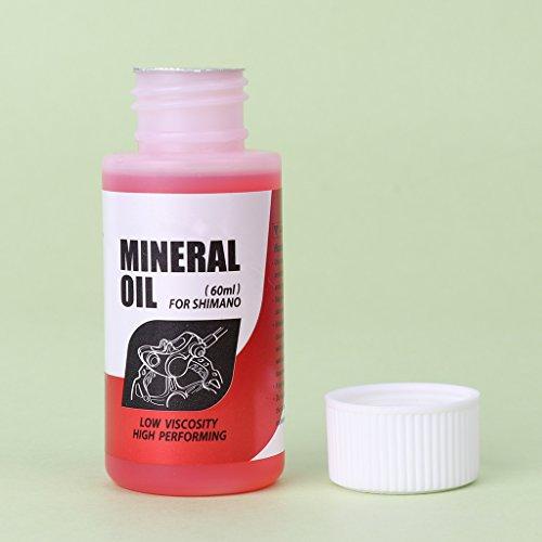 GMSP - Sistema de Frenos de Bicicleta (60 ml, Aceite Mineral, líquido de Ciclismo para Bicicletas de montaña)