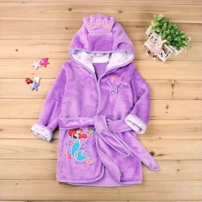 Kinder Bademantel Baby 1 St. Jungen Mädchen Soft Robe Pyjamas Coral Kinder...