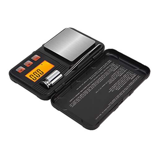 LOVIVER Mini Precisão Digital Gram Jóias Pesa Comida Cozinha Balança 0,001-200g - 0,001g