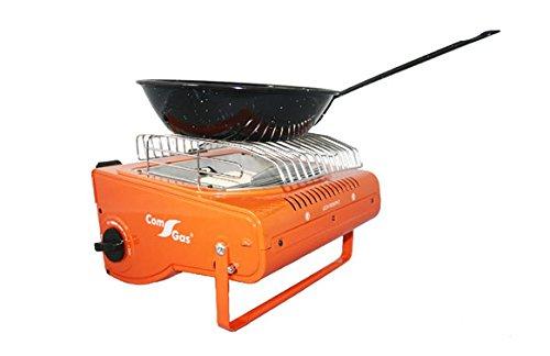 estufa-cocina Notebook 2in 1Infrarot-250gr Orange - 2