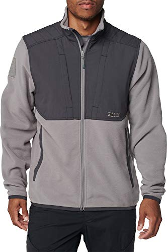 5.11 Tactical Series Apollo Tech FLECE Jacket Homme, Coin, FR : M (Taille Fabricant : M)