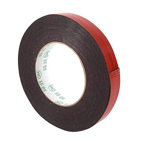 Ahomi Waterproof Self Adhesive Double Sided Mobile Phone Foam Tape (1mm*15mm*10m)