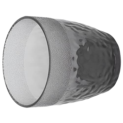 Taza, Taza de café Vasos de plástico Vaso de Cerveza Reutilizable Vasos para Beber de 300 ml para restaurantes Bares Fiesta Oficina en casa(Gris)