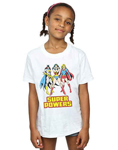 DC Comics niñas Wonder Woman Super Power Group Camiseta