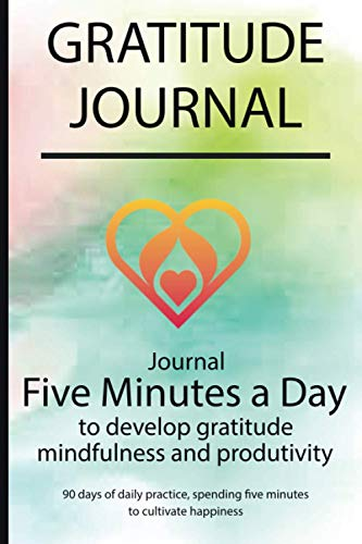 Gratitude journal: Journal Five minutes a day to develop gratitude, mindfulness and productivity By Simple Live 4126