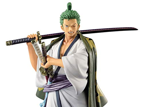 Banpresto BP39846 Zoro Wano Kuni Figur, Mehrfarbig