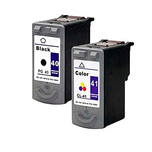 Cartuchos Tinta Compatible para Canon PG-40 CL-41 Fax JX200 18ml Negro y Color T49