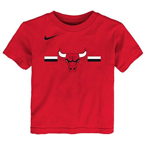 Nike NBA Little Boys Toddler (2T-4T) & Kids (4-7) Essential Logo Tee, Chicago Bulls 3T