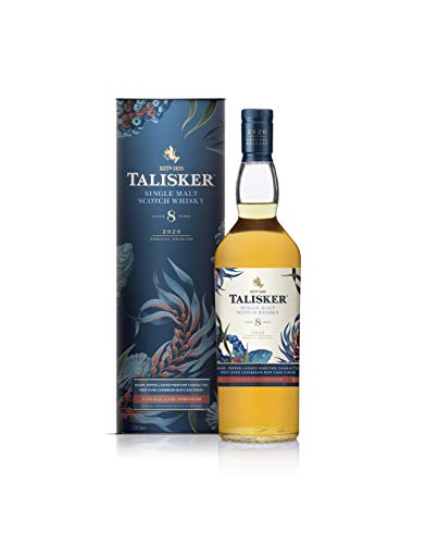 Talisker Special Release 2020, 8 Jahre Single Malt Whisky, in Geschenkverpackung Single Malt Whisky (1 x 0.7 l)
