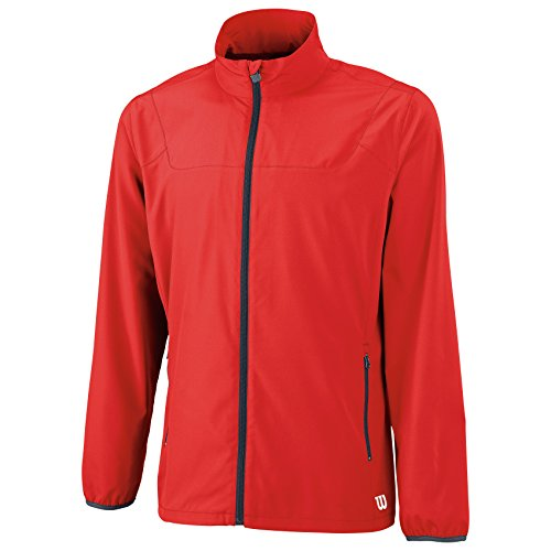 WILSON Team Veste Homme, Rouge, FR : M (Taille Fabricant : M)