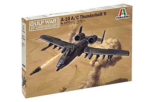 Italeri 1376 - Gulf War: A-10 A/C Thunderbolt II Model Kit Scala 1:72